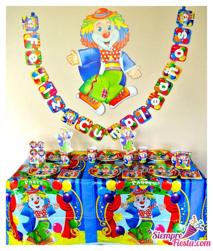 39 best images about fiestas de payaso on pinterest - Todo para fiestas de cumpleanos ...