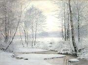 Winter Sunset  by James Thomas Watts
