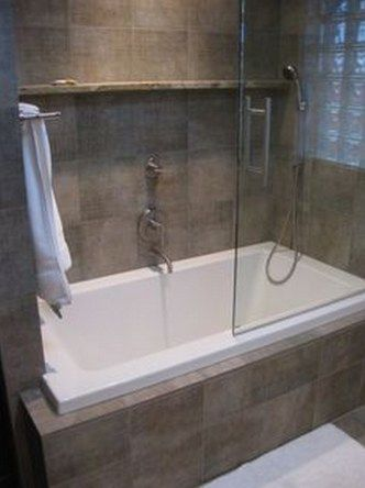 99 small bathroom tub shower combo remodeling ideas 9