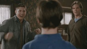 Pin for Later: 25 Signs You Are Utterly Obsessed With Supernatural Your Tumblr Is a Mess of Sam and Dean GIFs They make you smile!