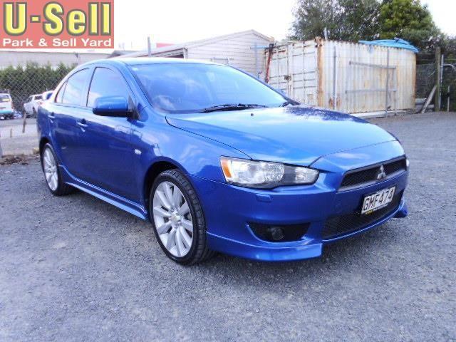 2008 Mitsubishi Lancer Vr-x for sale | $8,990 | https://www.u-sell.co.nz/main/browse/27087-2008-mitsubishi-lancer-vr-x-for-sale.html | U-Sell | Park & Sell Yard | Used Cars | 797 Te Rapa Rd, Hamilton, New Zealand