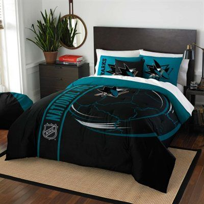 San Jose Sharks Full Comforter Set