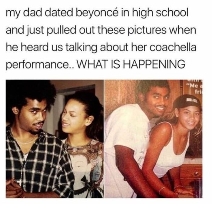 Imagine Being This Guy S Wife And Your Man S Ex Is Beyonce Daily Lol Pics Really Funny Funny Funny Memes