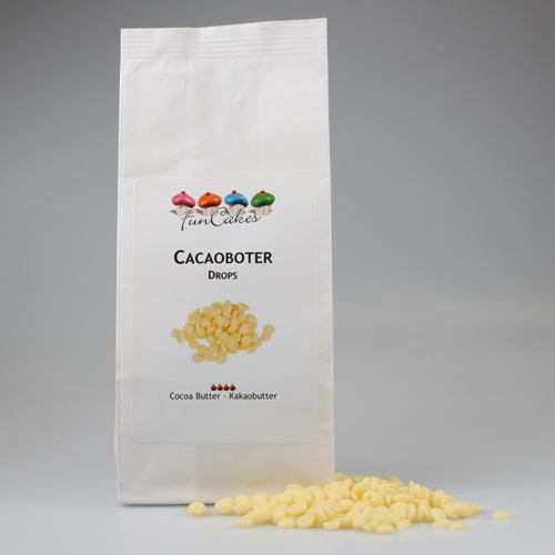 FunCakes Cacaoboter Drops 200gr.