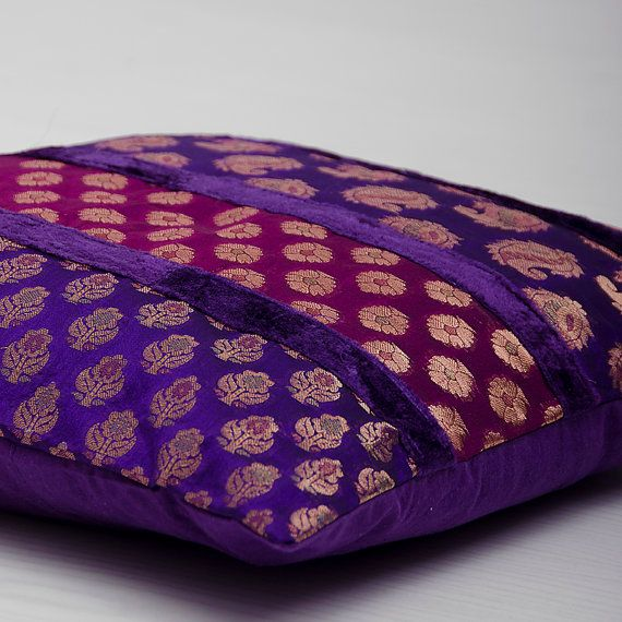 1000 Ideas About Purple Cushion Covers On Pinterest