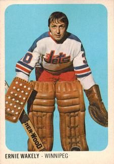 1973-74 Quaker Oats WHA #41 Ernie Wakely Front