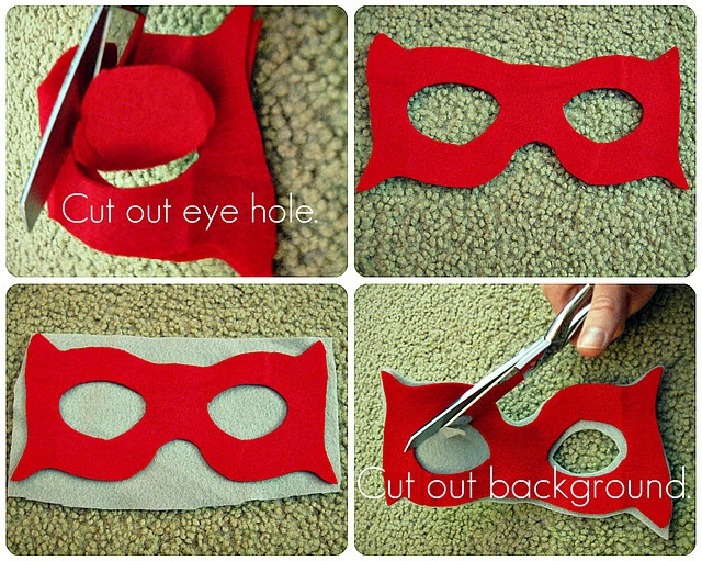 how to make super hero masks