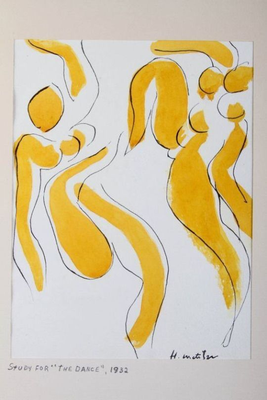 Study for 'The Dance', 1932 Henri Matisse