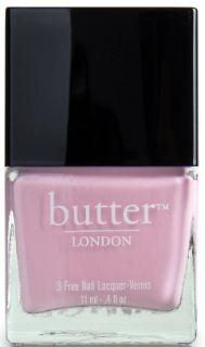Vanilla Bloom. Butter London Nail Polish - Teddy Girl.  A pale retro bubblegum pink nail lacquer featured on the catwalk of a top Brit designer.