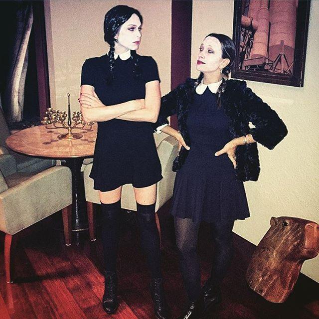 Pin for Later: Elles Se Sont Déguisé en Quoi les Célébrités Cet Halloween? Jennifer Meyer et Erin Foster