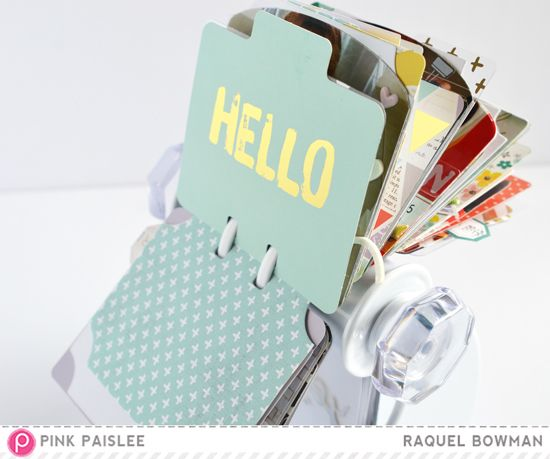 Memorandum & the Memorydex Spinner - Makes me Happy @raquelLbowman @pinkpaislee #pinkpaislee #ppmemorandum #memorandum #memorydex #homedecor