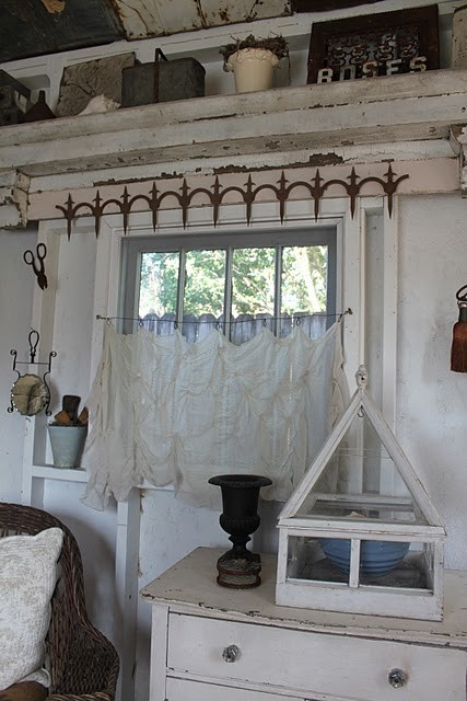 17 best images about rustic window treatments on pinterest cornice ideas curtain rods and. Black Bedroom Furniture Sets. Home Design Ideas