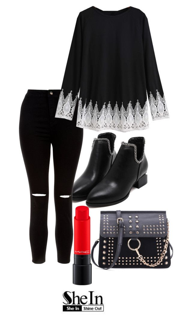 """Untitled #111"" by nellanm on Polyvore featuring New Look and MAC Cosmetics"