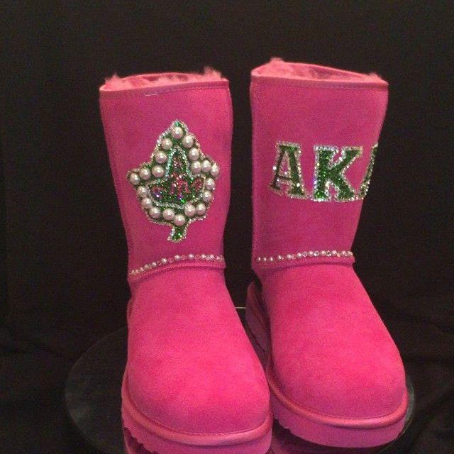 Custom AKA boots