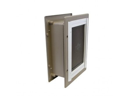 Shop For Wall Entry Aluminum Pet Door™ By PetSafe   GRP WALL