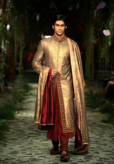 Indian Wedding Groom Suit Ideas