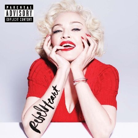 Madonna - Rebel Heart CD  Living For Love Devil Pray Ghosttown Unapologetic Bitch Illuminati Bitch I39