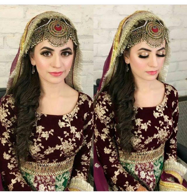 Beautiful Afghan dress and Motika. http://www.zarinas.com/