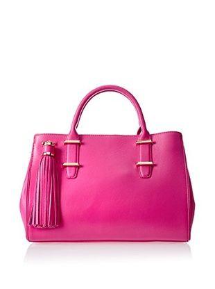 60% OFF IVANKA Women's Classic Saffiano Double Handle, Pink Sapphire