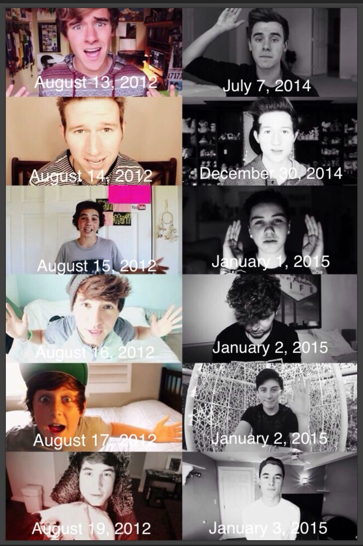 Our2ndLife first and last video dates