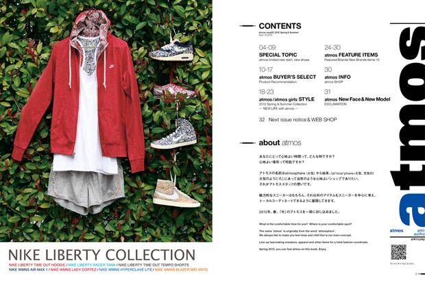 Atmos Mag table of contents