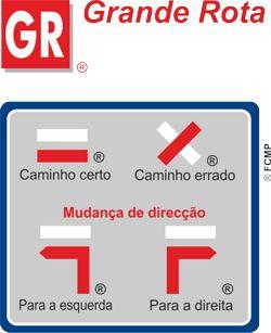 FCMP (Percursos Pedestres) - Sinalização dos percursos de Grande Rota