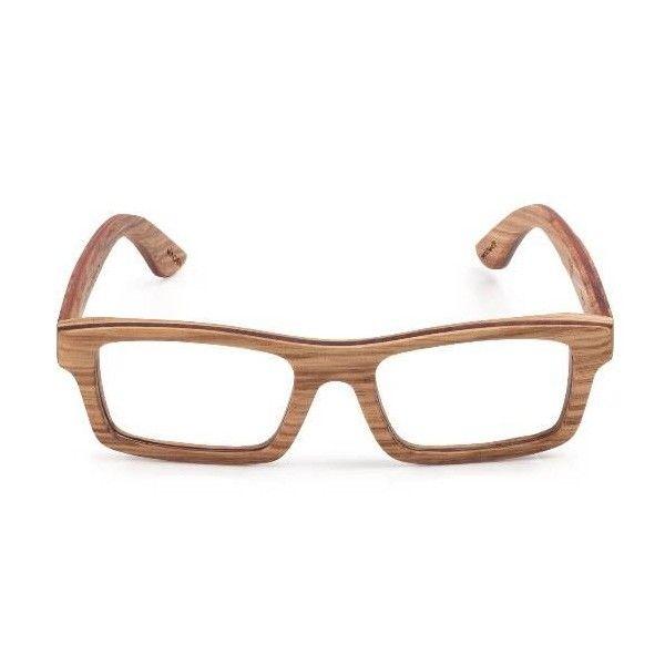 Wood Fellas Brille aus Zebranoholz - Jetzt reduziert bei Lesara