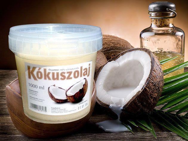 Kókuszolaj - 1 Kg / Mindennapos használatra, a sütéstől a testápolásig!