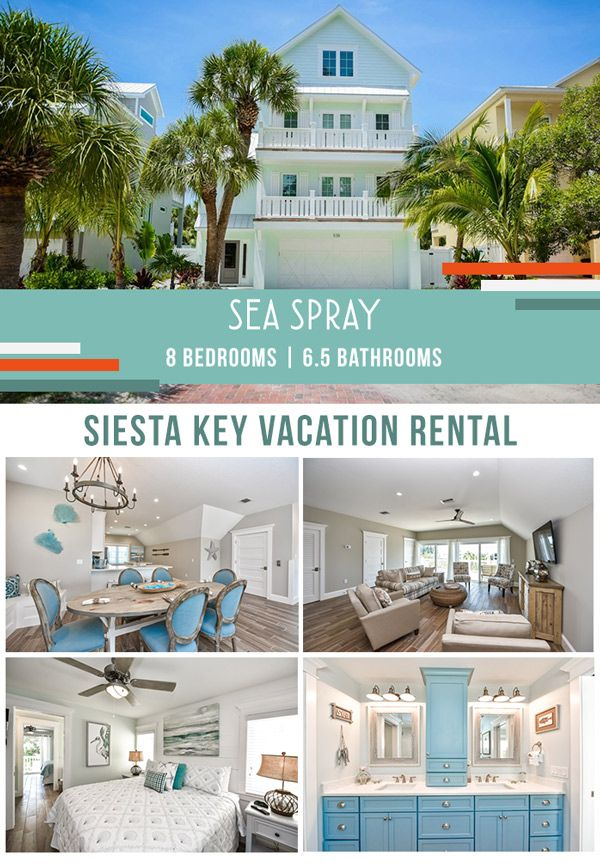 Siesta Key Vacation Rental Fido Friendly Saltwater Pool Only 1 Mile To Sk Beach Close To The Pet Friendly Vacation Rentals Vacation Rental Saltwater Pool