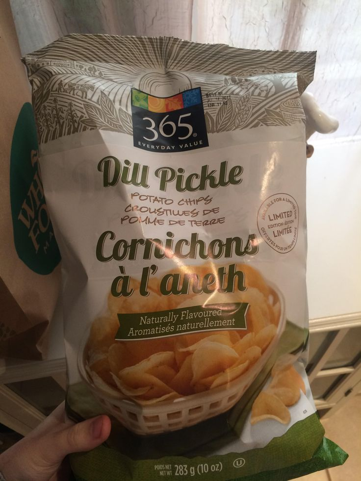 FINALLY! Vegan friendly Dill Pickle chips from Whole Foods!