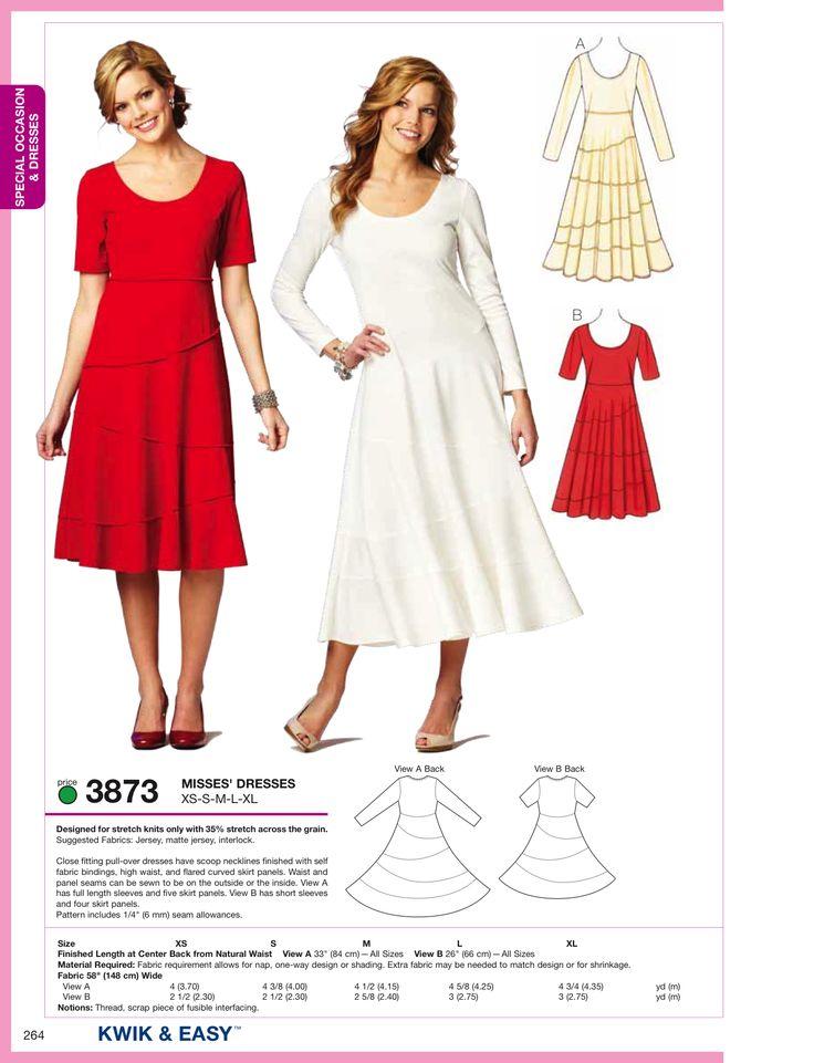 K3873 Misses Dress
