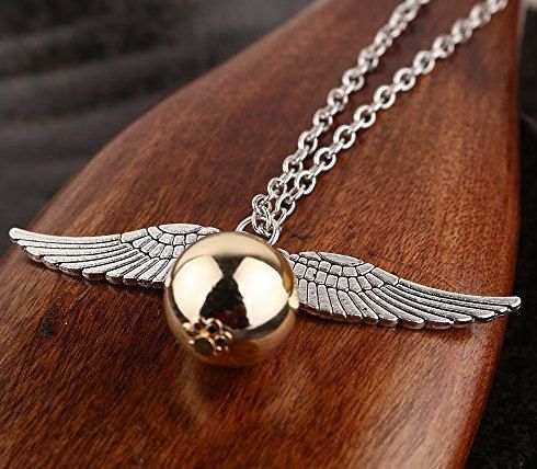 Harry Potter Golden Snitch Bronze Tone The Deathly by CYANGOODS