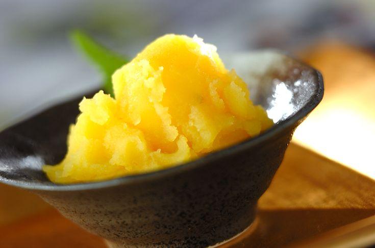 黄金色がまぶしい!栗きんとん。栗きんとん/中島 和代のレシピ。[和食/蒸しもの]2007.12.10公開のレシピです。