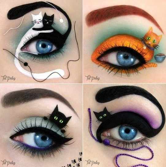 Maquillaje de ojos de fantasía Fotos de Tal Peleg