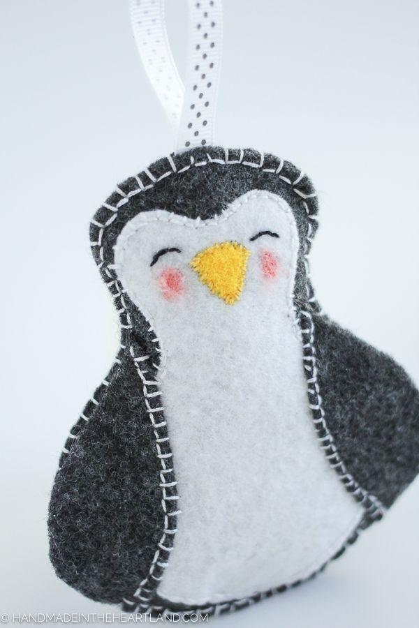 Best  Felt Penguin Ideas On   Felt Crafts Diy