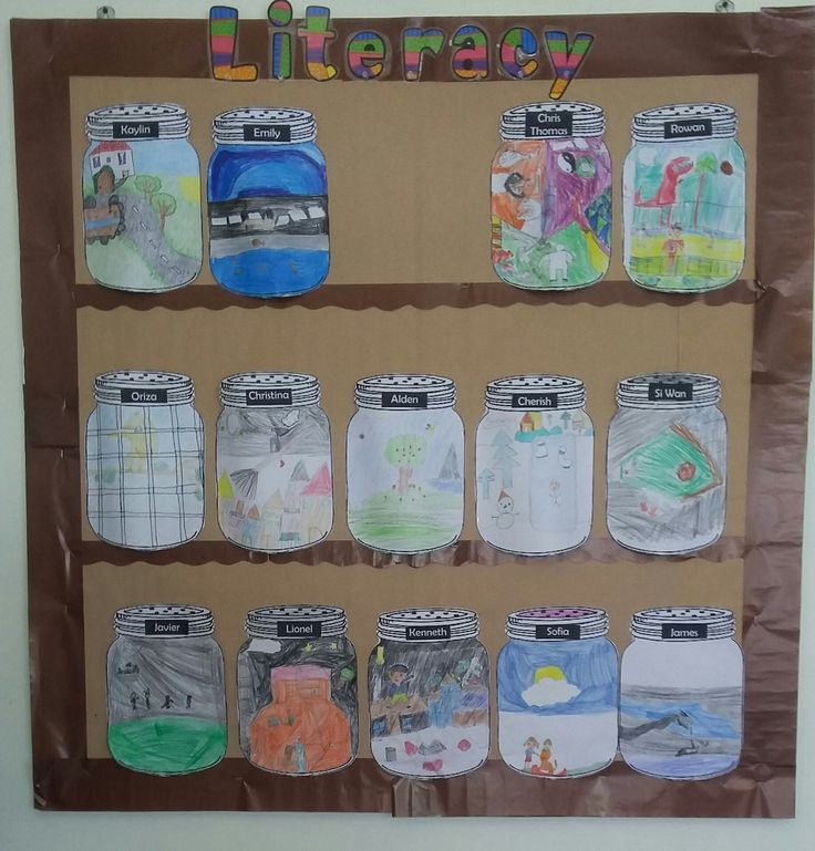 Classroom Jar Ideas ~ The bfg dream jars class display and craft ideas