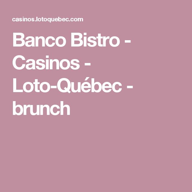 club casino loto quebec