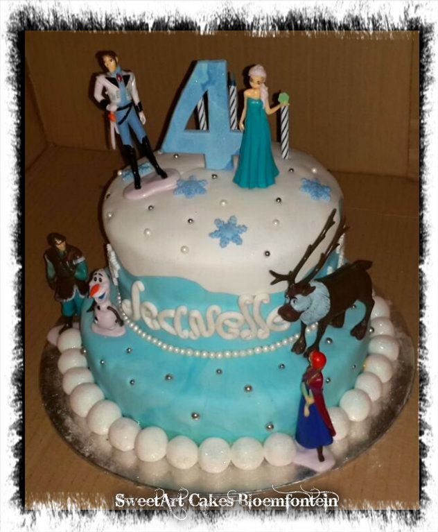 FROZEN CAKE For more information & orders please direct all inquiries to Sweetartbfn@gmail.com