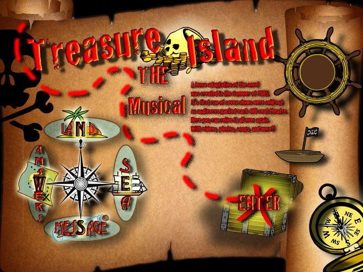 Playwrights - Treasure Island, ©2005