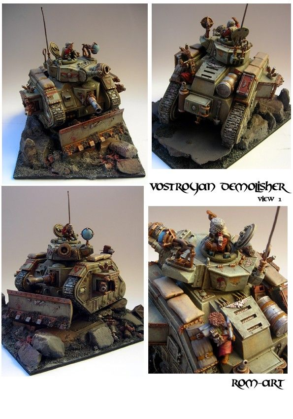 Vostroyan Demolisher Tank Imperial Guard - Overview