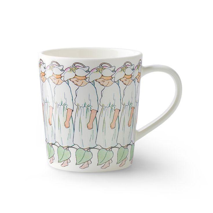 Pyrola mug with handle