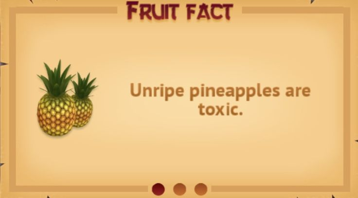 Fruit fact #7