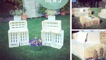 La decoración de una boda romántica