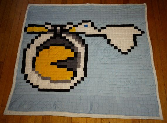 Stock Surprise Childs quilt by 8bitHealey