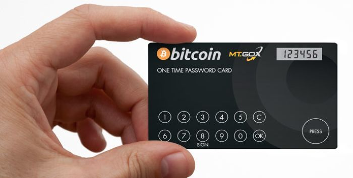 Bitcoin's MT. Gox Exchange Launches One Time Password Security Card - MT-Gox have launched a one time password card, that will add a second layer pf security to your account, once the card is linked to your account, you can then choose for the card to generate a one time password each time you login. | Geeky Gadgets