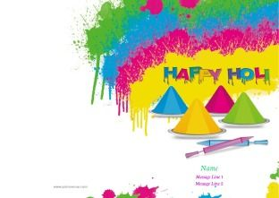 Choose your Holi Greeting Cards design!