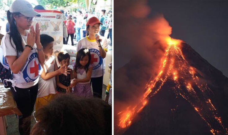 Mayon volcano eruption: Fears of disease spreading as 75k evacuated from danger zone | World | News