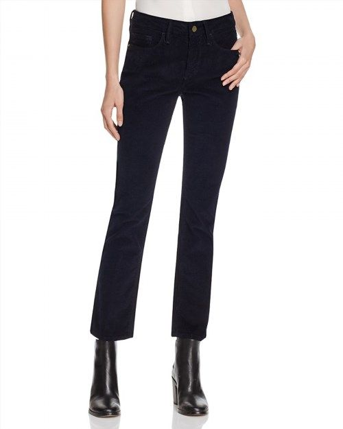 113.40$  Watch now - http://viewz.justgood.pw/vig/item.php?t=w4epai40261 - FRAME Le Crop Mini Boot Jeans in Deep Blue Dive 113.40$