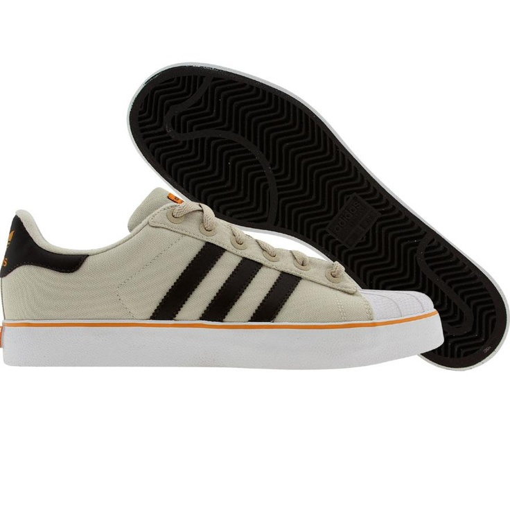 Adidas Superstar 2 Vulcanized (deep bone / turf green / light orange)  562158 -