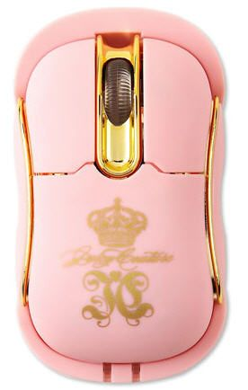 GLAM•❖•Luxury  www.facebook.com/pages/GLAMLuxury www.twitter.com/GLAMandLuxury  Juicy Couture's Pink Wireless Mouse
